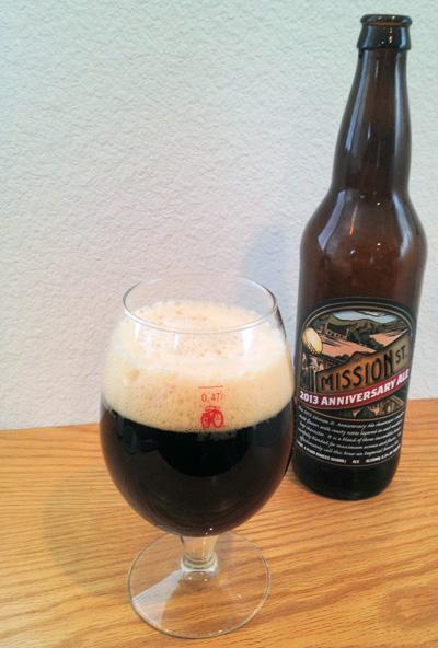 Mission St 2013 Anniversary Ale Pour