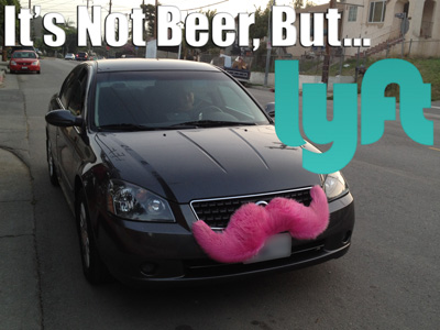 Lyft on-demand rideshare