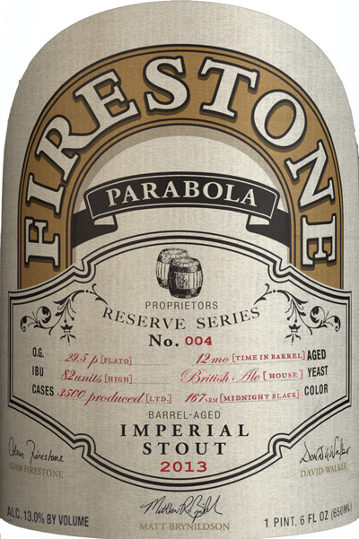 Firestone Walker Parabola 2013