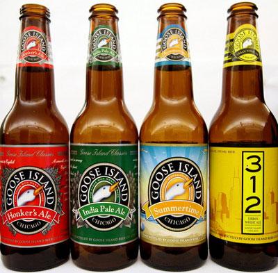 Goose Island Core Beers