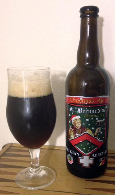 St. Bernardus Christmas Ale - Brouwerij St. Bernardus NV - Beer Guy LA