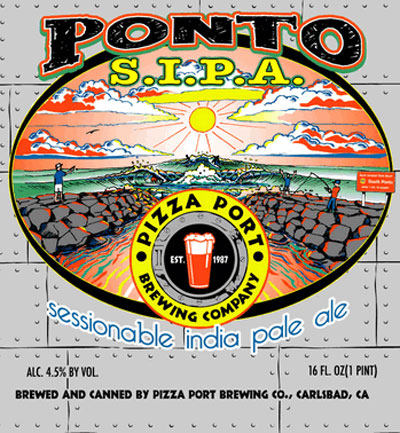 Pizza Port Ponto SIPA label
