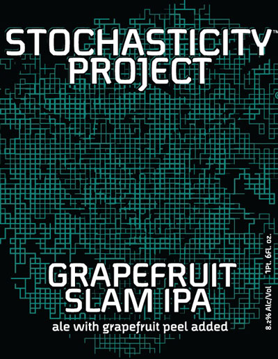 Stochasticity Project Grapefruit Slam IPA label
