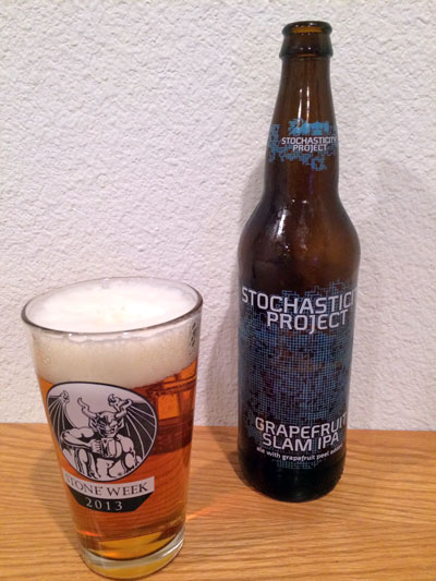 Stochasticity Project Grapefruit Slam IPA pour