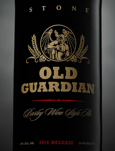 Stone 2014 Old Guardian Label