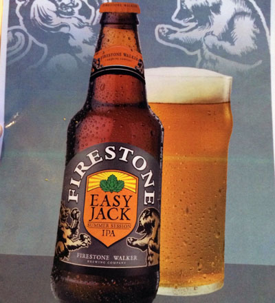 Firestone Walker Easy Jack label