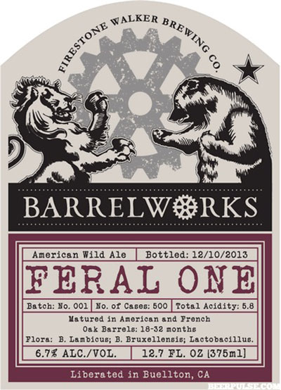 Firestone Walker Feral One label