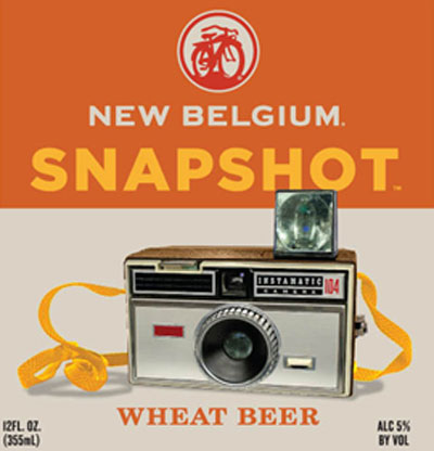 New Belgium Snapshot label