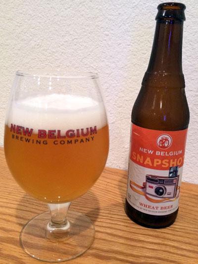 New Belgium Snapshot pour