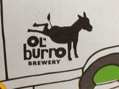 Ol' Burro Logo