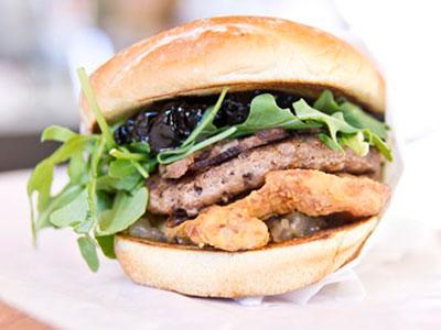 Oinkster Burger Week IV - Day 3 Turducken