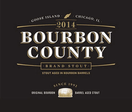 Goose Island Bourbon County Brand Stout 2014