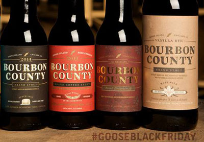 Goose Island Bourbon County Brand Stout 2014 lineup